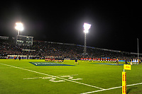 The team line up before the 2017 DHL Lions Series rugby union match between the NZ Provincial Barbarians and British & Irish Lions at Toll Stadium in Whangarei, New Zealand on Saturday, 3 June 2017. Photo: Dave Lintott / lintottphoto.co.nz