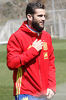 Nacho Fernandez during Spanish national football team stage. March 22,2016. (ALTERPHOTOS/Acero)