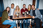 Enjoying the evening in Teach Beag on Friday, l to r: Sarah Counihan (Tralee), Jack Davies, Kayla O'Brien, Declan McCrohan, Edel Hanafin and Miguel Esquemere.
