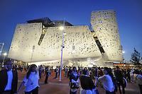 """- Milano, Esposizione Mondiale Expo 2015, padiglione italiano """"Palazzo Italia"""" <br /> <br /> - Milan, the World Exhibition Expo 2015, Italian pavilion """"Palazzo Italia"""""""
