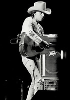 1987 FILE PHOTO - ARCHIVES -<br /> <br /> Dwight Yoakam: His pitch, intonation and style are perfect, reviewer says.<br /> <br /> 1987<br /> <br /> PHOTO :  Erin Comb - Toronto Star Archives - AQP