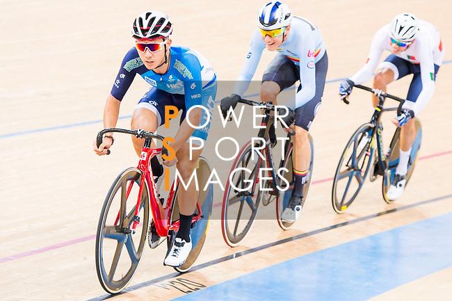 Leung Chun Wing of Hong Kong Rider competes on the Men's Omnium Tempo Race 10km during the 2017 UCI Track Cycling World Championships on 15 April 2017, in Hong Kong Velodrome, Hong Kong, China. Photo by Marcio Rodrigo Machado / Power Sport Images