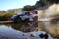4th June 2021; Alghero, Sardinia; WRC rally of Italia Sardinia, stages  1-8;  Elfyn Evans-Toyota Yaris WRC
