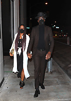 JB Smoove And Shahidah Omar Spotted at Catch