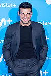 Mario Casas attends to blue carpet of presentation of new schedule of Movistar+ at Queen Sofia Museum in Madrid, Spain. September 12, 2018.  (ALTERPHOTOS/Borja B.Hojas)
