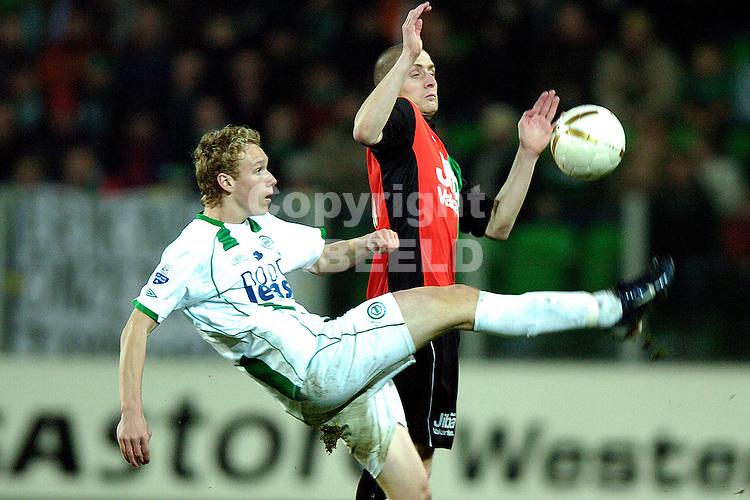 fc groningen - nec eredivisie seizoen 2007-2008 23-01-2008.stefan nijland.fotograaf Jan Kanning *** Local Caption ***