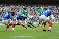 Sunday10th March 2019 | Ireland vs France<br /> <br /> Jonathan Sexton during the Guinness 6 Nations clash between Ireland and France at the Aviva Stadium, Lansdowne Road, Dublin, Ireland. Photo by John Dickson / DICKSONDIGITAL