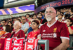 Liverpool FC soccer fans during the Premier League Asia Trophy match between West Bromwich Albion and Crystal Palace at Hong Kong Stadium on 22 July 2017, in Hong Kong, China. Photo by Yu Chun Christopher Wong / Power Sport Images