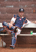 Greg Lamp of the Virginia Cavaliers vs. the Miami Hurricanes:  March 24th, 2007 at Davenport Field in Charlottesville, VA.  Photo By Mike Janes/Four Seam Images