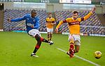 17.01.2021 Motherwell v Rangers: Glen Kamara and Liam Polworth