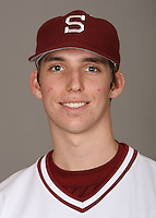 STANFORD, CA - JANUARY 7:  Kevin Morton of the Stanford Cardinal baseball team poses for a headshot on January 7, 2009 in Stanford, California.