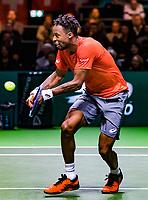 Rotterdam, The Netherlands, 17 Februari 2019, ABNAMRO World Tennis Tournament, Ahoy, Final, Gael Monfils (FRA) winner <br /> Photo: www.tennisimages.com/Henk Koster