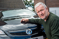Tuesday  09 August 2014<br /> Pictured:Alan Dobedoe<br /> Re:  Alan Dobedoe has had problems with the bodywork on his Vauxhall Astra