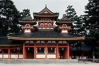 Kyoto: Jeian Shrine, 1895. Photo '81.