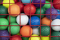 Multicolor balls are offered Monday June 7, 2021 at Golf Mountain Mini Golf in Rogers. For information see https://golf-mountain.net/ Visit nwaonline.com/2100608Daily/ and nwadg.com/photo. (NWA Democrat-Gazette/J.T. Wampler)