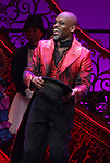 """Sahr Nguajah during the Broadway Opening Night performance Curtain Call bows for """"Moulin Rouge! The Musical"""" at the Al Hirschfeld Theatre on July 25, 2019 in New York City."""
