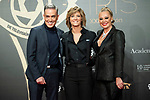 "Maria Casado, Kiko Hernadez and Belen Esteban attend ""Iris Academia de Television' awards at Nuevo Teatro Alcala, Madrid, Spain. <br /> November 18, 2019. <br /> (ALTERPHOTOS/David Jar)"