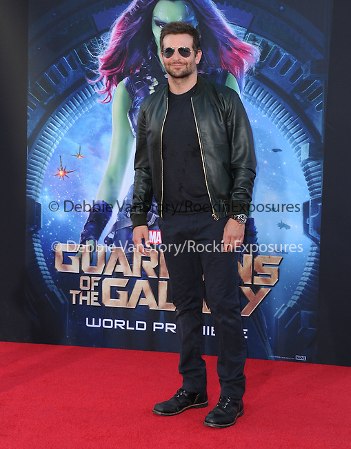 Bradley Cooper<br />  attends The Marvel Studios World Premiere GUARDIANS OF THE GALAXY held at The Dolby Theatre in Hollywood, California on July 21,2014                                                                               © 2014Hollywood Press Agency