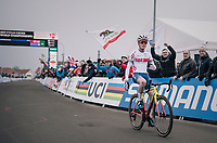 Tom Pidcock (GBR) dominating the Men's U23 race > becoming the new U23 World Champion<br /> <br /> UCI 2019 Cyclocross World Championships<br /> Bogense / Denmark<br /> <br /> ©kramon