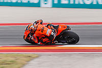 2nd October 2021; Austin, Texas, USA;  Brad Binder (33) - (RSA) riding a KTM for the Red Bull KTM Factory Racing Team at at turn 19 during Free Practise 3 at the MotoGP Red Bull Grand Prix of the Americas held October 2, 2021 at the Circuit of the Americas in Austin, TX.