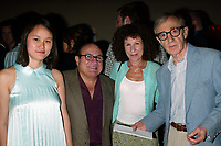 Woody Allen with his wife Soon-Yi Allen <br /> and Danny Devito with his wife Rhea Perlman<br /> Attending the Pre-Cocktail Reception Party for the Movie Premiere of ANYTHING ELSE at Restaurant Brasserie <br /> 8 1/2  with a Screening at the Paris Theatre, <br /> New York City.<br /> September 16, 2003.<br /> Credit: Walter McBride/MediaPunch