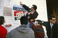 - demonstration of Democratic Party of the Left (PDS) against the Craxi government (Mars 1994)<br /> <br /> - manifestazione del Partito Democratico della Sinistra (PDS) contro il governo Craxi (marzo 1994)