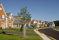 South Manor Court in the Allaire Manor Development in Spring Lake Heights, New Jersey. house, home, suburbs, suburban development, design. Spring Lake Heights New Jersey.