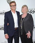 Simon Baker and mom at The .Book of Mormon Opening Night held at The Pantages Theatre in Hollywood, California on September 12,2012                                                                               © 2012 Hollywood Press Agency