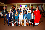 Ben Hickey former student of Abbeydorney NS at his Confirmation in St Bernard's Church Abbeydorney on Tuesday with his family Jack, John, Jack, Mairead and Leah Hickey and Leah Hickey.
