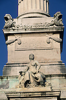 Europe/France/Aquitaine/33/Gironde/Bordeaux : Le monument des girondins