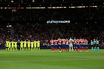 Atletico de Madrid's team photo during La Liga match between Atletico de Madrid and Getafe CF at Wanda Metropolitano Stadium in Madrid, Spain. August 18, 2019. (ALTERPHOTOS/A. Perez Meca)