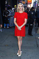 NEW YORK, NY - October 28: Reese Witherspoon at Good Morning America promoting the new Apple Series The Morning Show on October 28 , 2019 in New York City. Credit: RW/MediaPunch