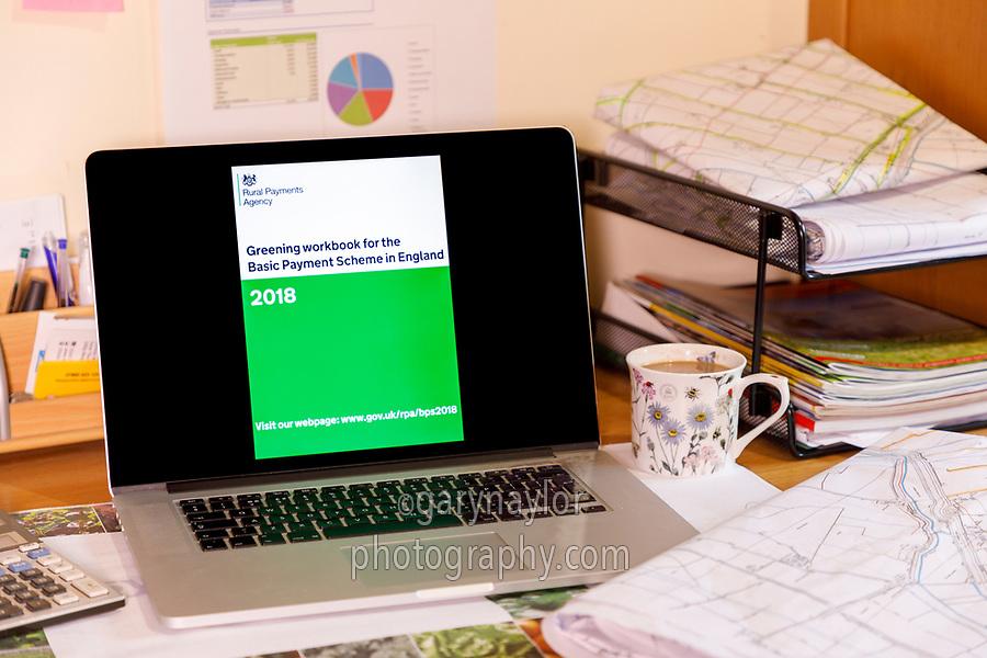 Greening work book England 2018