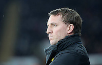 SWANSEA, WALES - MARCH 16: Liverpool manager Brendan Rodgers<br /> Re: Premier League match between Swansea City and Liverpool at the Liberty Stadium on March 16, 2015 in Swansea, Wales