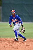 New York Mets Yeixon Ruiz (45) during practice before a minor league spring training game against the St. Louis Cardinals on April 1, 2015 at the Roger Dean Complex in Jupiter, Florida.  (Mike Janes/Four Seam Images)