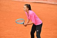 8th October 2020, Roland Garros, Paris, France; French Open tennis, Roland Garros 2020;  Kristina Dmitruk - Czech