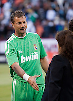 Jerzy Dudek. Real Madrid defeated Club America 3-2 at Candlestick Park in San Francisco, California on August 4th, 2010.