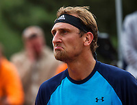Paris, France, 24 June, 2016, Tennis, Roland Garros,  Thiemo de Bakker (NED) reacts<br /> Photo: Henk Koster/tennisimages.com