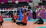Danielle Ellis, Lima 2019 - Sitting Volleyball // Volleyball assis.<br /> Canada competes in women's Sitting Volleyball // Canada participe au volleyball assis féminin. 26/08/2019.