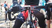 111th Paris-Roubaix 2013..double brakes.