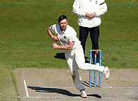 16th April 2021; Emirates Old Trafford, Manchester, Lancashire, England; English County Cricket, Lancashire versus Northants;  Simon Kerrigan of Northamptonshire bowling