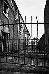Slum clearance terraced house Kilburn London Uk 1967