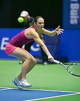 19-12-13,Netherlands, Rotterdam,  Topsportcentrum, Tennis Masters,   Bibiane Schoofs (NED)  <br /> Photo: Henk Koster