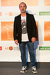 Jorge Roelas poses for the photographers during 2015 Theater Ceres Awards photocall at Merida, Spain, August 27, 2015. <br /> (ALTERPHOTOS/BorjaB.Hojas)