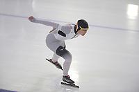 SCHAATSEN: HEERENVEEN: 15-12-2018, ISU World Cup, 1500m Ladies Division B, Gabriele Hirschbichler (GER), ©foto Martin de Jong