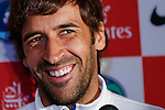 Spanish soccer player Raul Gonzalez talk about NY Cosmos team
