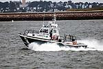 Massachusetts Environmental Police on patrol in Boston Harbor