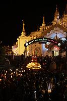 Ballon festival in Taungyyi,Myanmar, 2018