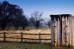 Outhouse on a ranch