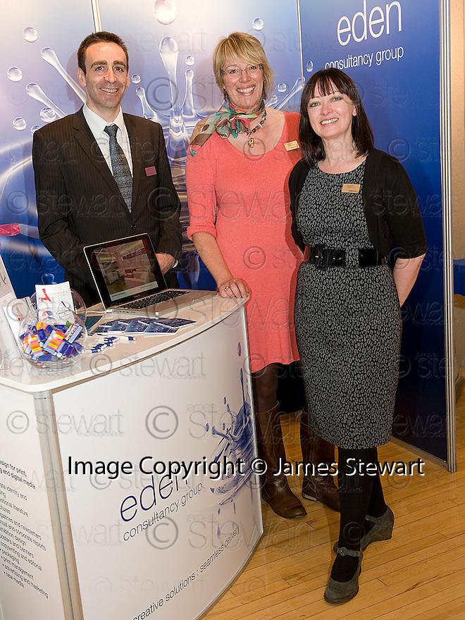 Falkirk Business Exhibition 2011<br /> Eden Consultancy Group